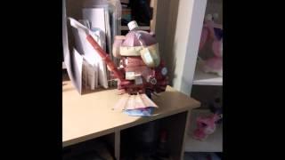 Howl's Moving Castle Papercraft Construction
