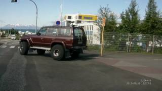 Video IS34 - Driving around Akureyri