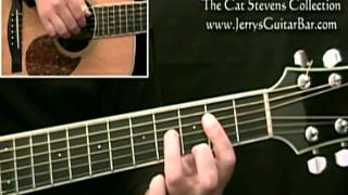How To Play Cat Stevens Oh Very Young (introduction)