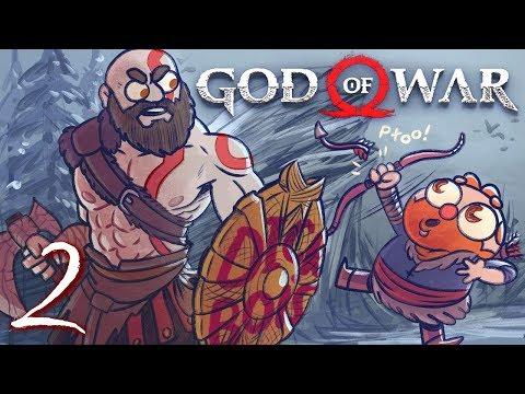God of War HARD MODE (God of War 4) Part 2 - w/ The Completionist