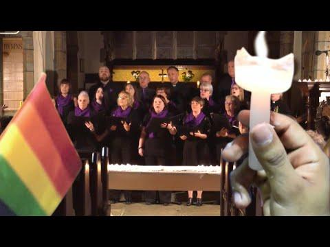 Batley Community Choir Perform 'The Rose' - The Last Leg