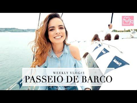 WEEKLY VLOG #3 Passeio de Barco + Inês Faz Anos!!  | A Maria Vaidosa