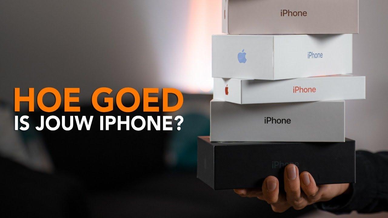 Review-update: Hoe goed zijn oudere iPhones in 2021?
