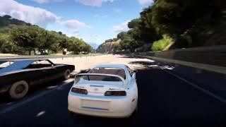 Fast 7 Paul Walker Tribute - Forza Horizon 2