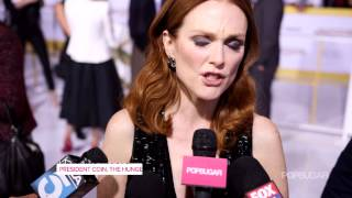 Sam Claflin Talks About Jennifer Lawrence at The Hunger Games: Mockingjay Part 1 Premiere