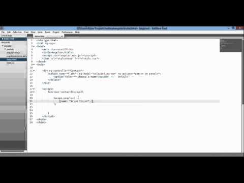 angular js ng options   fill select dropdown   html element 720p