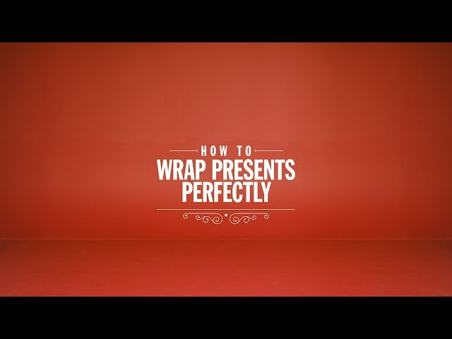 "Diesel Presents ""How To Wrap Presents Perfectly"""