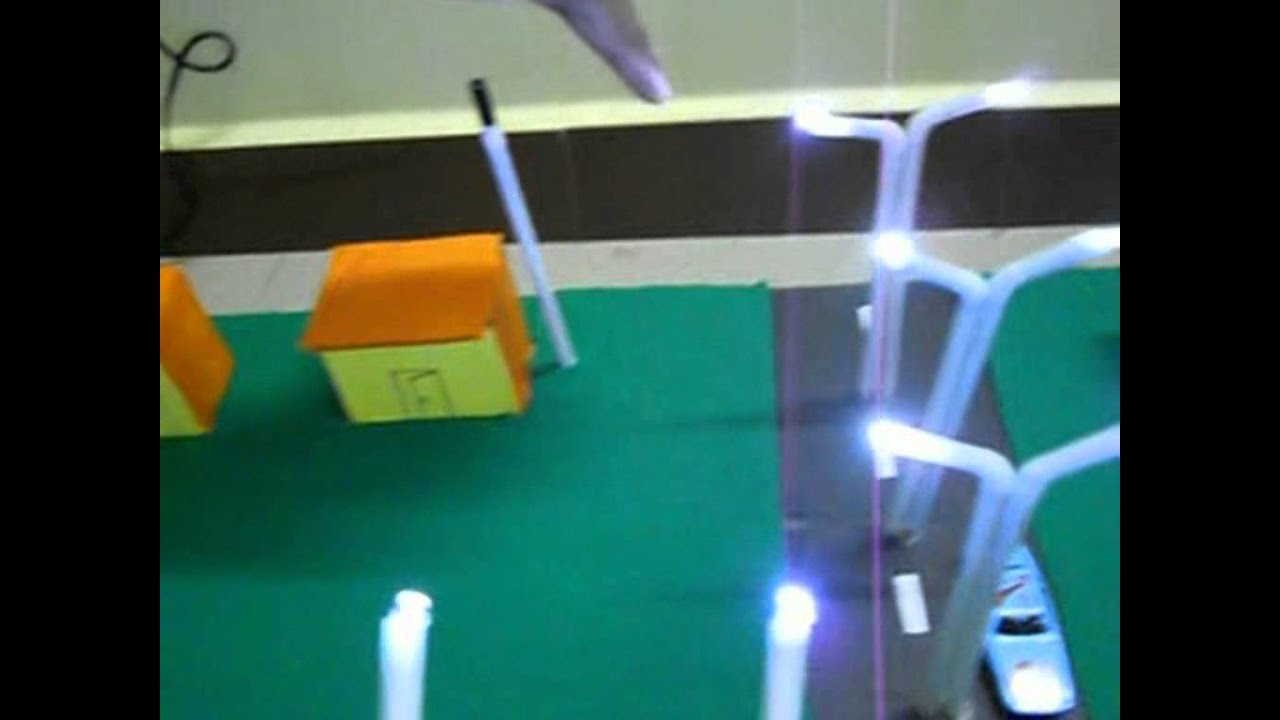 automatic street light electronics project