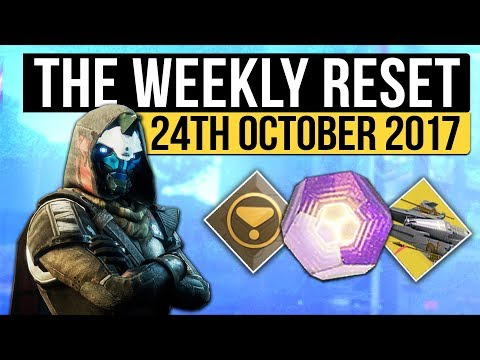 Destiny 2 | WEEKLY RESET! - PC Release Times, Powerful Gear, Nightfall & Vendor Reset (24th October)