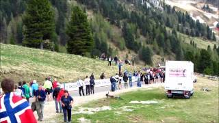 Giro dItalia 2012 stage 19 Passo Pampeagowmv