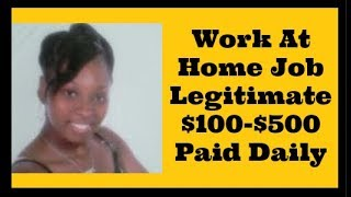 Work from home jobs 2018 2019 [legitimate at jobs] how to make money online