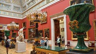 Смотреть видео Санкт-Петербург музей Эрмитажа онлайн