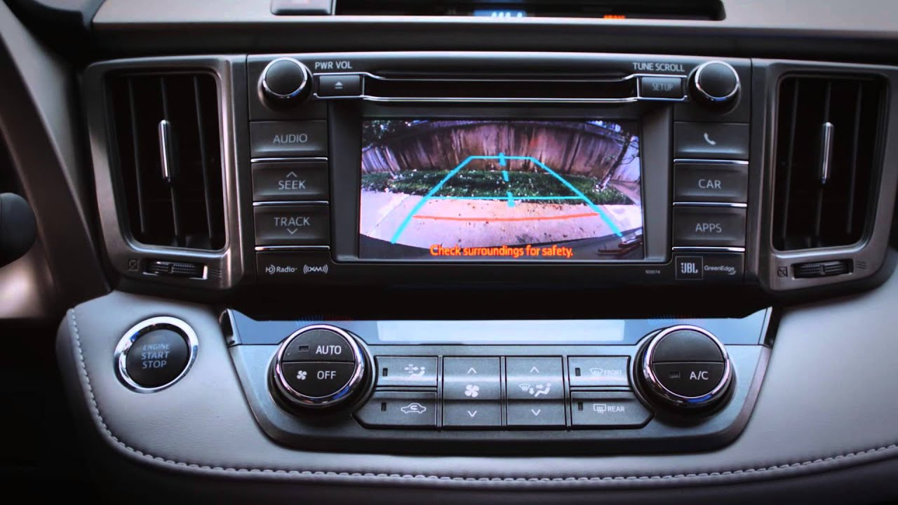 2015 Rav4 Interior And Convenience Youtube