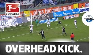 Brilliant Overhead Kick - The Almost Goal of the Year