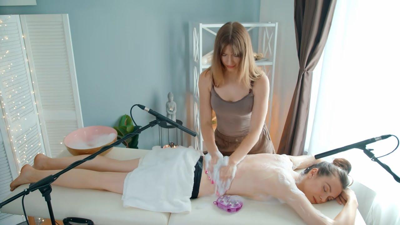ASMR soap full body massage by Olga