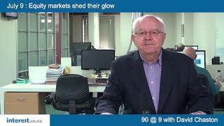 90 seconds @ 9am : Equity markets shed their glow