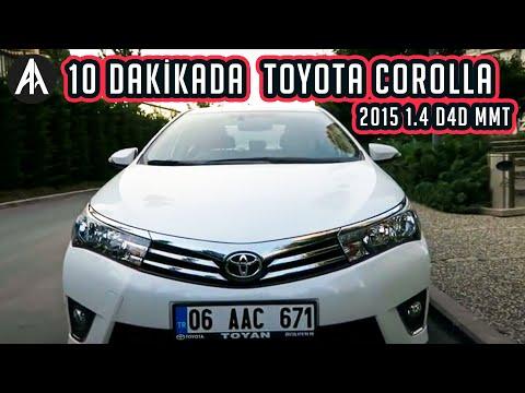 10 Dakikada | Toyota Corolla 2015 1.4 D4D MMT