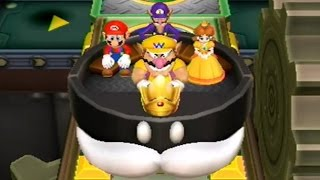 Mario Party 9  Bobomb Factory (King Bobomb Bus)  2 Player Party Mode