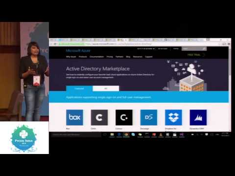 Image from Creating, deployment & customizing Linux VMs on Azure with Python - PyCon India 2015