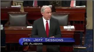 Jeff Sessions Addresses Senate After Being Confirmed A.G. 2/8/17