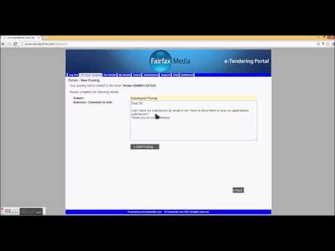 TenderLink :: Video 2 -- Download Documents & Forum