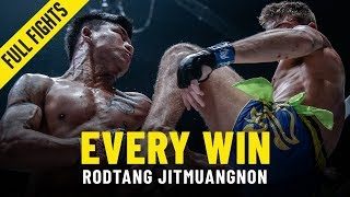 Every Rodtang Jitmuangnon Win  ONE Full Fights