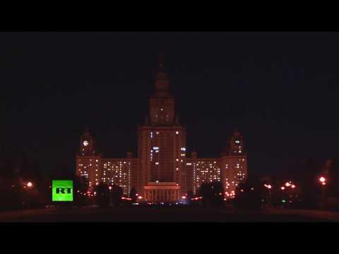 Moscou s'éteint pour célébrer l'Earth Hour (Direct du 25.03)