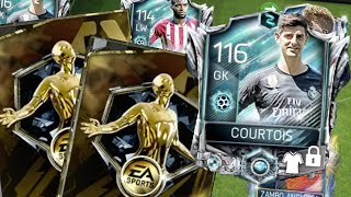 FIFA Mobile Now and Later Master Courtois   More Coin Program Packs! Pre-Season Master Team Gameplay