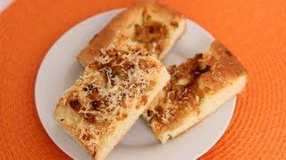Caramelized Onion Focaccia Recipe - Laura Vitale - Laura in the Kitchen Episode 531