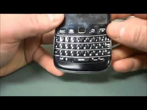 How To Replace The Keyboard On A Blackberry Bold 9700