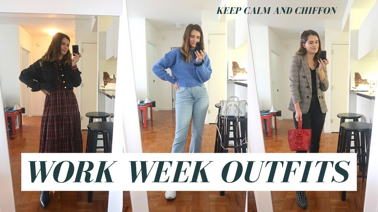 [VIDEO] - WORK OUTFIT IDEAS FALL 2019 - CASUAL WORK OUTFITS FOR NYC 6