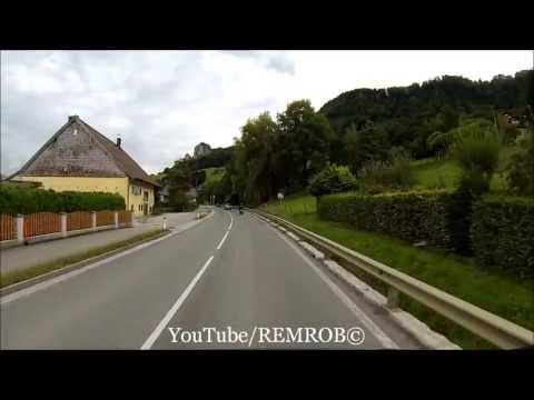 Driving From Old Town Salzburg To Hallein Salt Mines, Austria