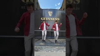 NOW LOOK AT THIS!! Amazing Irish dancing at the Guinness Gate [Day n Nite by Kid Cudi] #shorts #cudi
