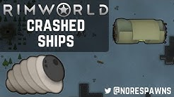RimWorld Guide - Dealing with Crashed Ships