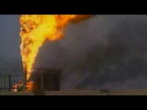 Kuwait oil fields burning Gulf War 1991