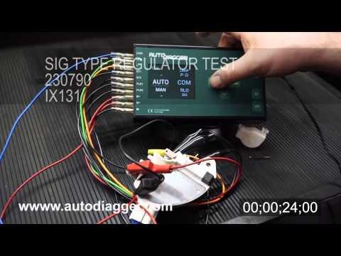 AD300 - standalone regulator tester