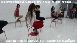 """Saigonbellydance"" Chair dance ""I'm a slave 4u"" by VDANCE FOX Kieu Ngoc (V3T's choreo)"