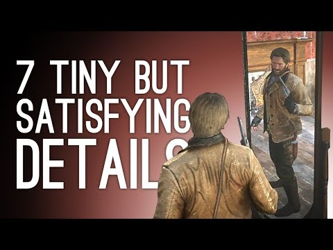 7 Tiny Details You Find Super Satisfying in Games