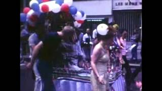 1974 NYC Pride Parade Home Movie