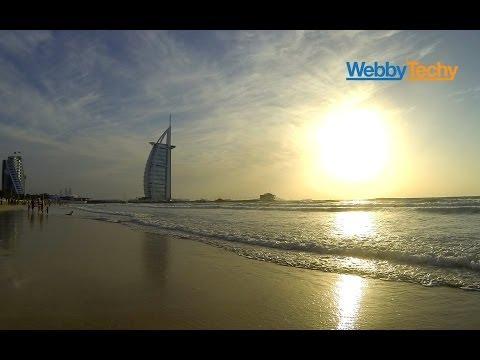 Burj Al Arab sunset – Umm Suqeim Beach – Dubai – GoPro