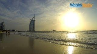 Burj Al Arab sunset - Umm Suqeim Beach - Dubai - GoPro
