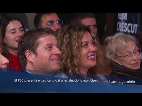 El PSC presenta el seu candidat a les eleccions municipals