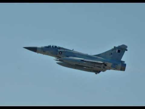 Qatar Air Force Mirage 2000-5_fighter jets on Air