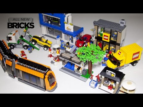 Lego City 60097 City Square Speed Build