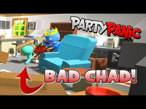 PARTY PANIC MINIGAMES | BAD CHAD! | RADIOJH GAMES & GAMER CHAD