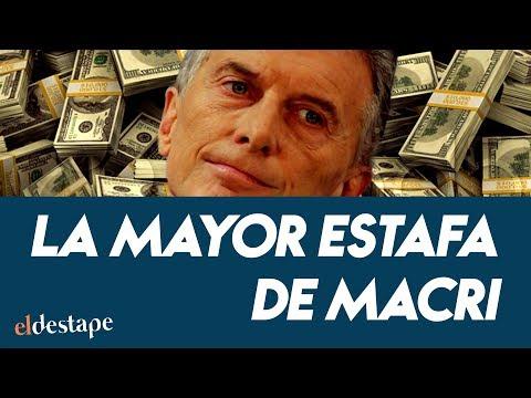 La mayor estafa de Macri | El Destape con Roberto Navarro EN VIVO