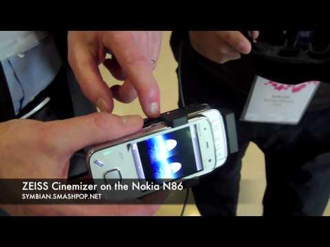 Zeiss Cinemizer on Nokia N86