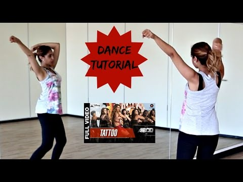 Tattoo (ABCD2) || How to Bollywood Dance - Tutorial || Francesca McMillan