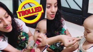 Deepika Singh हुईं TROLL , Baby को लगाया था LIPSTICK