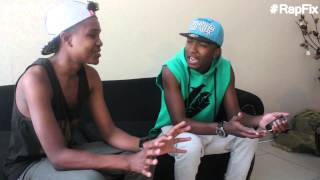 Jay and Mickey M talk the game and Skhanda Rap